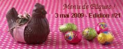 A vos casseroles - Menu de Pâques