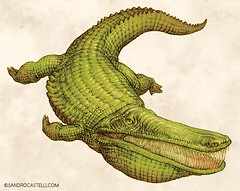 mourasuchus hecho por sandro Castelli