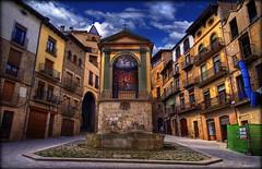 Solsona (Seracat) Tags: plaza square place joan catalonia catalunya sant hdr catalua solsona plaa campanar catalogne solsons sigma1020 sonya100 seracat