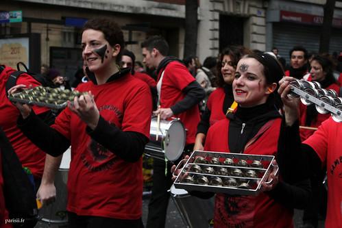 Musique au Carnaval de Paris
