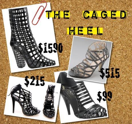 caged heel