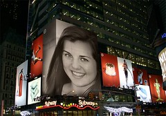 Tessa - Times Square (PhotoFunia edit)