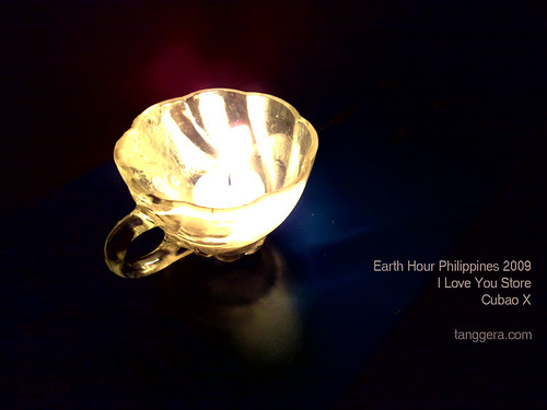 One Candle for Earth Hour Philippines