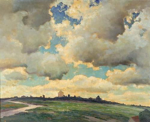 Dedrick Brandes Stuber: Passing Clouds, 1934