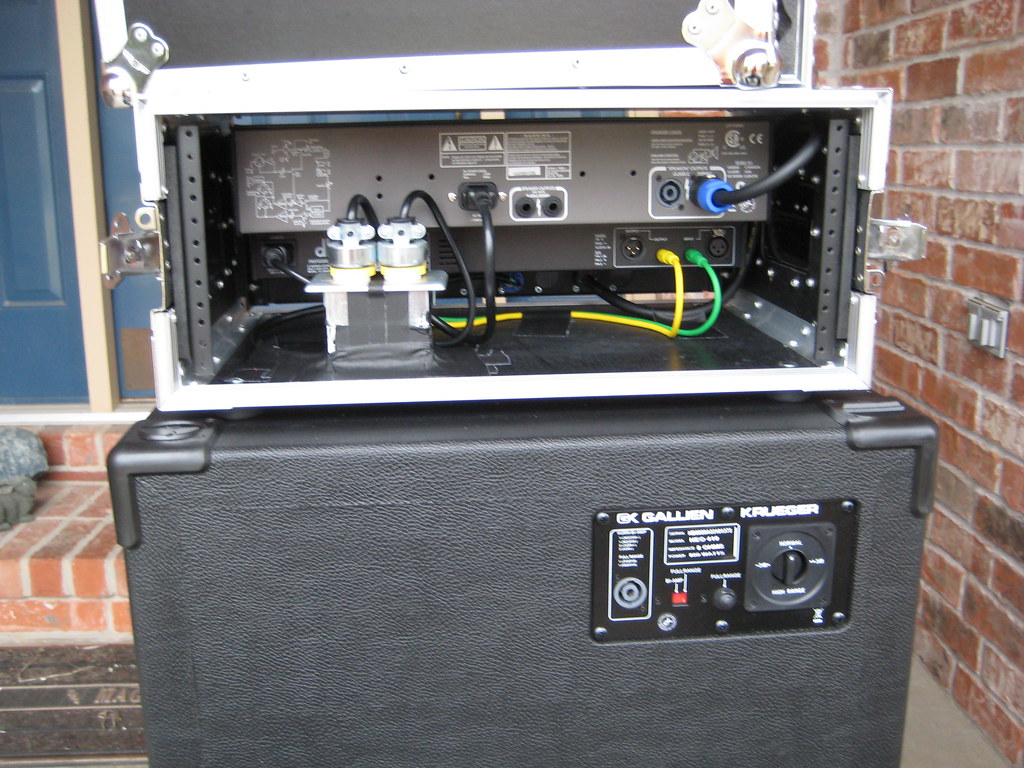 Potter's Bass Amp Rig