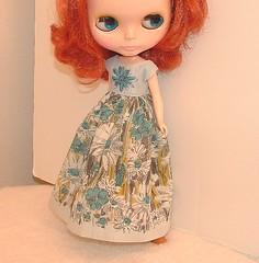 Upcycle Vintage Dress for Blythe