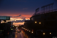 Clearing Storm, Wrigley Field (rjseg1) Tags: chicago storm field rain waveland baseball wrigley addison segal rjseg1