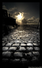 The First Step is the Hardest (Lee Carus) Tags: sunlight colour liverpool mono dock sony albert sigma 24 12 alpha cobbles a900 abigfave aplusphoto flickraward theperfectphotographer