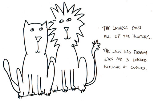 366 Cartoons - 060 - The Lioness and the Lion