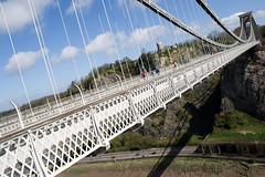 Clifton Suspension Bridge, this morning