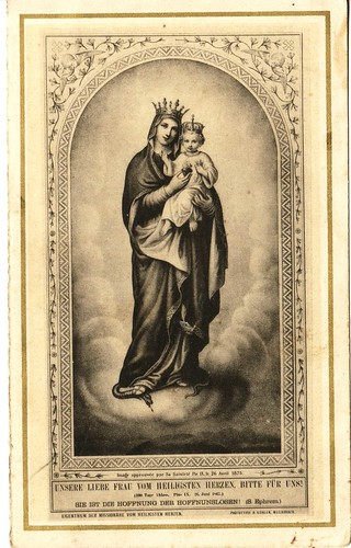 Maria and Jesus Front 1887