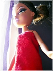 Six...Red Mood ( Jovas  ) Tags: red toy rojo doll mood candy juguete mueca monita redmood
