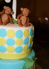 Monkey Cake (Stephanie (Cake Fixation)) Tags: redmond monkeycake cakefixation cakeredmond