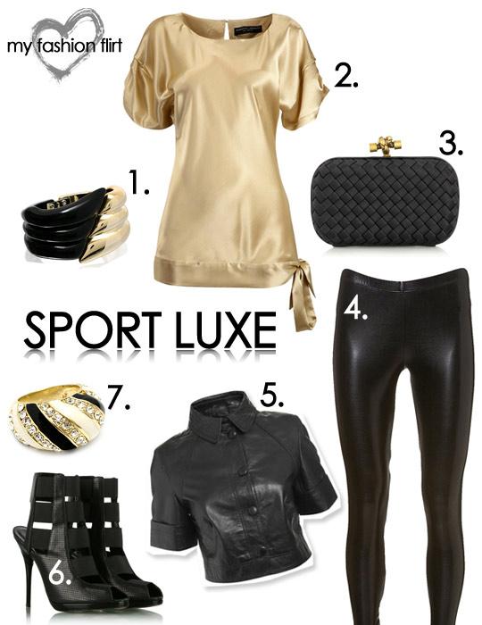 Sport Luxe Look