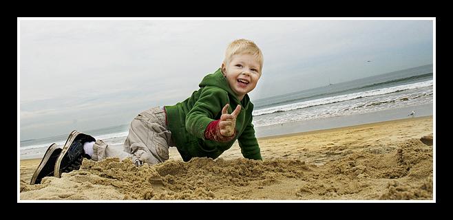 Diggin' in the sand