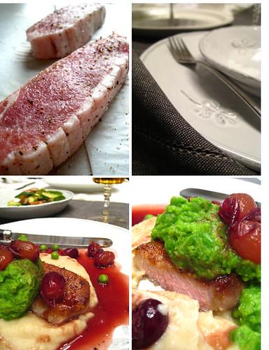 Spanish Iberico pork chop