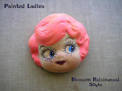 Painted Ladies Parts: Blossom Raisinwood