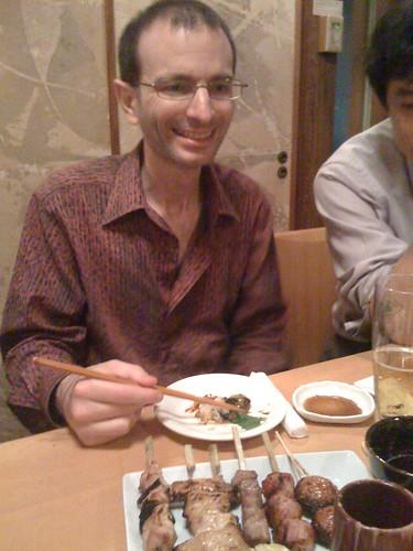 Bill Keese at Dojo Sake Tokyo