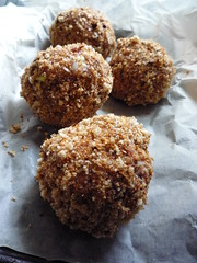 Scotch Eggs -Pre Baking (Girl Interrupted Eating) Tags: food recipe recipes