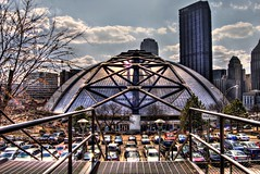 Mellon Arena (Dave DiCello) Tags: sky sun sunlight building hockey lines clouds photoshop landscape penguins high nikon pittsburgh cityscape afternoon dynamic steel pens railing nikkor range hdr stanleycup mellon igloo cs4 mellonarena pittsburghpa highmark civicarena steelcity sidneycrosby pittsburghpenguins pittsburghbridges d40 stanleycupchamps cityofbridges marcandrefleury tonemapped theburgh upmc civi nationalhockeyleague stanleycupchampions evgenimalkin theigloo d40x maximetalbot tylerkennedy pittsburghpens maxtalbot consolenergycenter sidneycrosbystanleycup civicarenapittsburghpa penguinhockeyteam mellonarenapittsburgh evad310 davedicello pittsurghpenguins stanleycuprings penguinsstanleycupring maxtalbotgame7 pittsburghcityofbridges cityofbridgesphotography