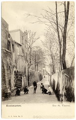 A Languid Afternoon in Old Montmartre (c.1903)