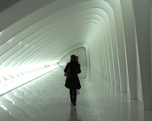 Hallway, Milwaukee Art Museum