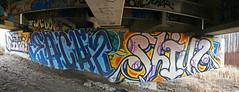 EACH2 - SHIVA (The Joy Of The Mundane) Tags: streetart art graffiti paint painted graf spraypaint shiva spraypainted each2