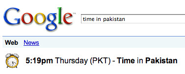 Google Got Wrong Time