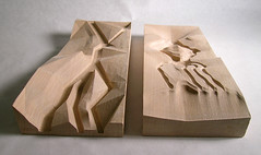 wood_smooth_sinuous (nywcheng) Tags: carving cnc cncrouter digitalfabrication