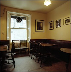 Scottish pub (quixotic54) Tags: 120 6x6 film zeiss mediumformat t scotland pub edinburgh kodak 66 hasselblad squareformat carl medium format 40mm portra distagon 500cm c41 cfe 160nc autaut 40mmdistagoncfe