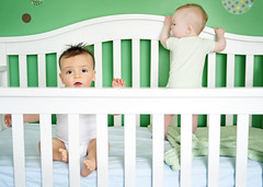 post nap monkey business (sesame ellis) Tags: boy girl twins nikon babies nursery crib mykids d3 ppm racheldevine wwwracheldevinecom