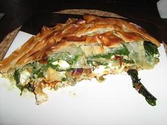 Spinach and Feta Baklava (CherryinHove) Tags: pistachio spinach feta baklava