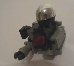 "Hardsuit Instructions (""Luke"") Tags: gun lego scifi instructions mech hardsuit"