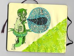 Jet-pac's Sketchbook (Jet-pac) Tags: moleskine pen ink sketch drawing sketchbook doodle marker highlighter felttips jetpac jetpacindustries wwwjetpacorg