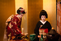 Otemae (yocca) Tags: interestingness kyoto explore maiko geiko  teaceremony 2009   kamishichiken  kitanoodori     apr2009 interestingness0428387