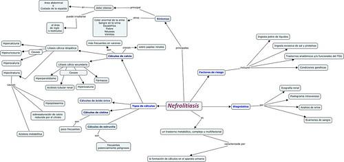 Mapa conceptual:nefrolitiasis