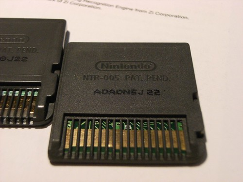 Back of the cartridge