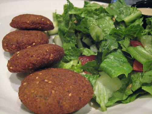 Falafel at Egyptian Pizza