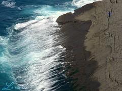 La resaca y el pescador (dlmanrg) Tags: faro olas santander acantilado cantabria pescando estremit yourcountry