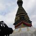 Spidey at Swayambhunath Buddhist temple. Kathmandu, Nepal 16MAY09
