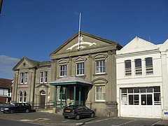 Sandown Old Town Hall (lapsuskalamari) Tags: old uk england mystery town hall britain guess picture hampshire location vectis isleofwight guessed sandown iow guesswhereuk guessedbysimonk