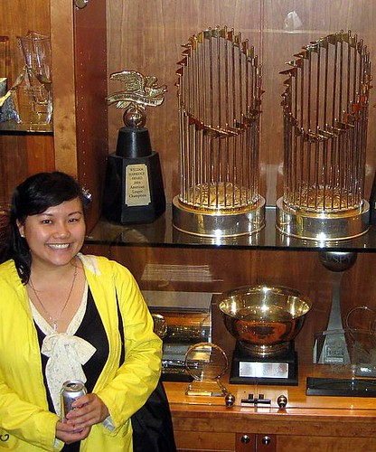 World Series Trophies!
