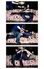 Vie d'un sofa:Fight To Control (V.G.L.P) Tags: men tv control sofa combat tl controle homme vie bataille manette battre