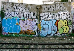 THER DONAS UTIL SEB SUPE (Dubwise Version) Tags: paris graffiti seb supe ther fmk util donas