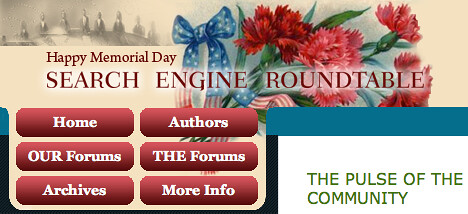 Memorial Day at SERoundtable.com