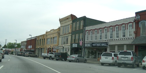 Downtown Fairburn, Georgia
