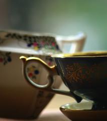 (Nicole Cooper) Tags: vintage tea bokeh nostalgic teapot teacup impetus nicolecooper