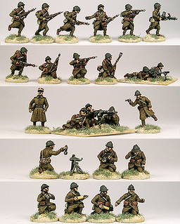 20mm Warmodelling French Infantry (May-June 1940)