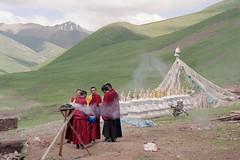 Stupa Dedication (karmajinpawangmo) Tags: kham kailash