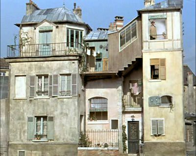 mr hulot's funny crooked house by Beautymist.
